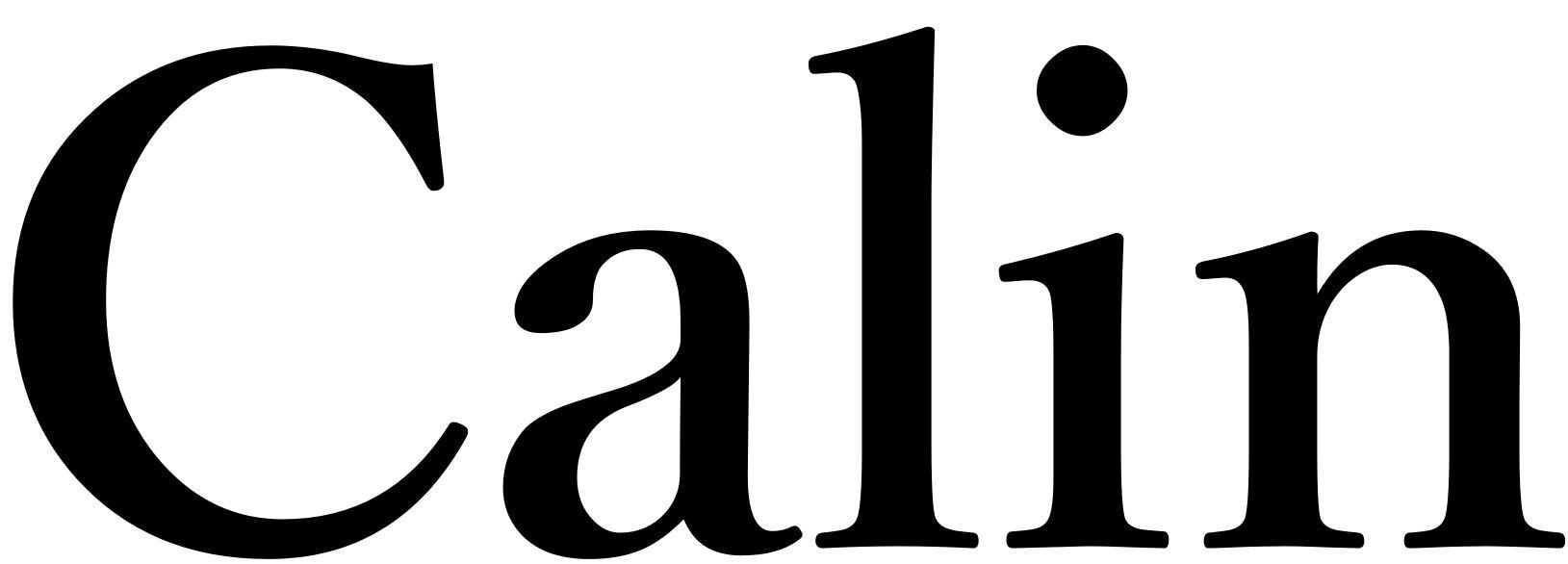 calin(10月1日オープン)