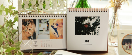【写真でつくるオリジナルカレンダー】